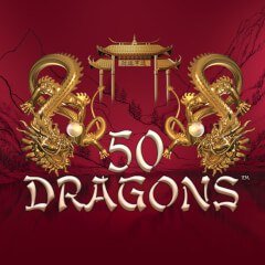 50 Dragons Slots game Aristocrat