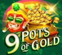 Play 9 Pots of Gold Slots game Microgaming