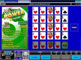 Aces & Faces Power Poker Video Poker