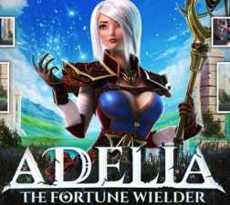 Adelia The Fortune Wielder Slots game Foxium