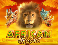 African Sunset Slots game GameArt