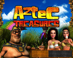 Play Aztecs Treasure Slots game RTG