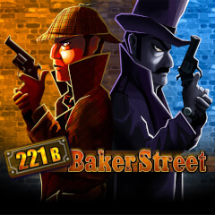 Play Baker Street Slots game Merkur