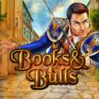 Play Books and Bulls Slots game Merkur