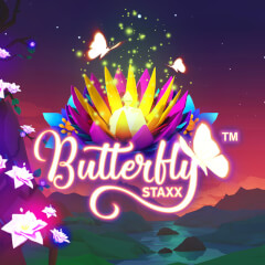Play Butterfly Staxx Slots game NetEnt