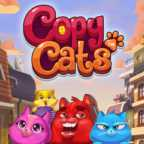 Copy Cats Slots game NetEnt