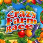 Play Crazy Farm Race Slots game Green Valley