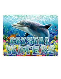 Play Crystal Waters Slots game RTG