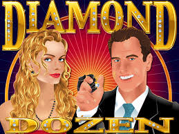 Play Diamond Dozen Slots game RTG