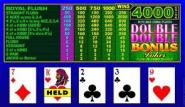 Double Double Bonus Joker Video Poker  Video Poker