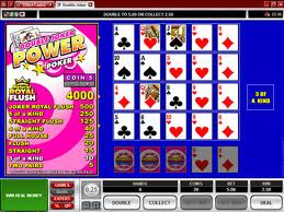 Double Joker Power Poker Video Poker Video Poker game Double Joker Power Poker Video Poker