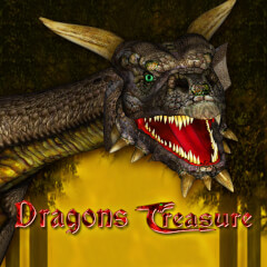 Play Dragons Treasure Slots game Merkur