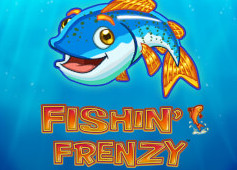 Play Fishin Frenzy Slots game GameArt