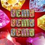 Gems Gems Gems Slots game WMS