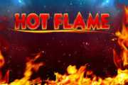 Hot Flame Slots game Merkur