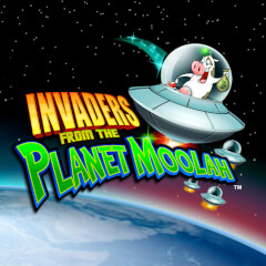 Invaders  the planet Moolah WMS Slots