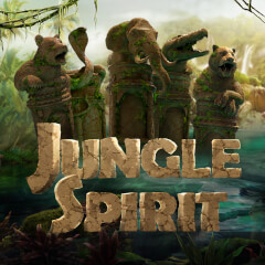 Jungle Spirit Call of the Wild Slots game NetEnt