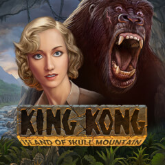 King Kong Island of Skull Mountain Slots game Amaya