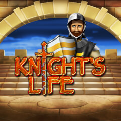 Play Knights Life Slots game Merkur
