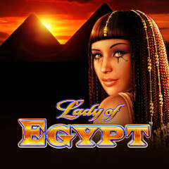 Play Lady of Egypt Slots game WMS