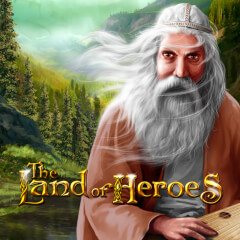 Play Land of Heroes Slots game Merkur