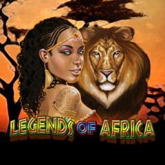 Play Legends Of Africa Slots game Microgaming