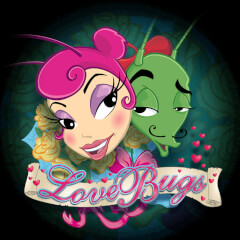 Play Love Bugs Slots game Microgaming