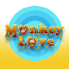 Play Monkey Love Slots game Amaya