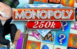 Monopoly 250k Slots game WMS
