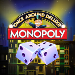 Monopoly Once Around Deluxe Slots game WMS