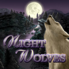 Play Night Wolves Slots game Merkur