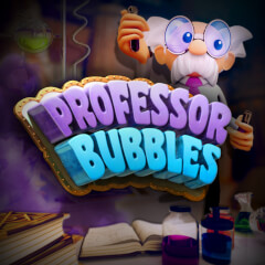Play Professor Bubbles Slots game Green Valley