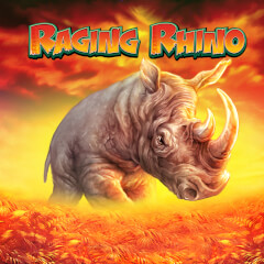 Raging Rhino Slots game WMS