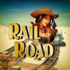 Play Rail Road Slots game Merkur