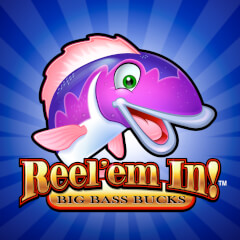 Reel em in Slots game WMS