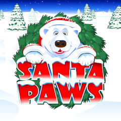 Play Santa Paws Slots game Microgaming