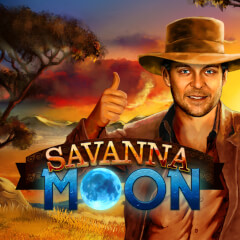 Play Savanna Moon Slots game Merkur