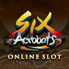 Six Acrobats Slots game Microgaming