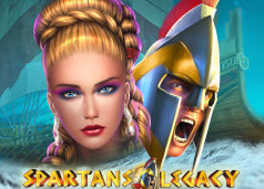 Spartans Legacy Slots game GameArt