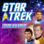 Play Star Trek Explore New Worlds Slots game WMS