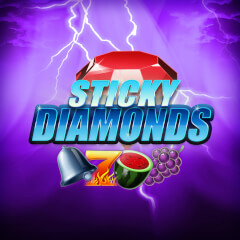 Play Sticky Diamonds Slots game Merkur