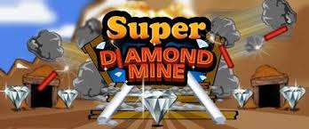 Play Super Diamond Mine Slots game RTG