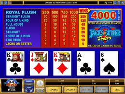 Tens or Better Video Poker Video Poker game Tens or Better Video Poker
