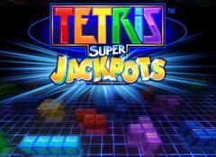 Tetris Super Jackpots Slots game WMS