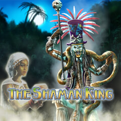 The Shaman King Slots game Merkur