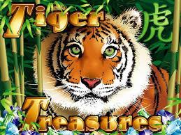Play Tiger Treasures Slots game RTG