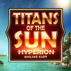 Play Titans of the Sun Hyperion Slots game Microgaming