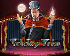 Play Tricky Trio Slots game Merkur