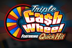 Play Triple Cash Wheel Slots game Bally