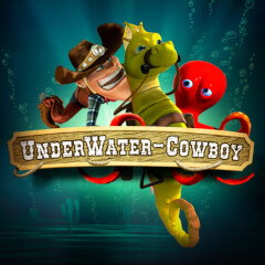 UnderWater Cowboy 2 Slots game Green Valley